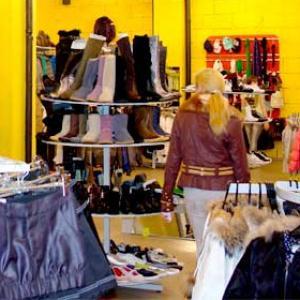 Магазины одежды и обуви Большой Ижоры